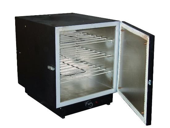 Stationary drying oven