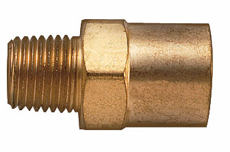 Pipe Thread to Hose Connection