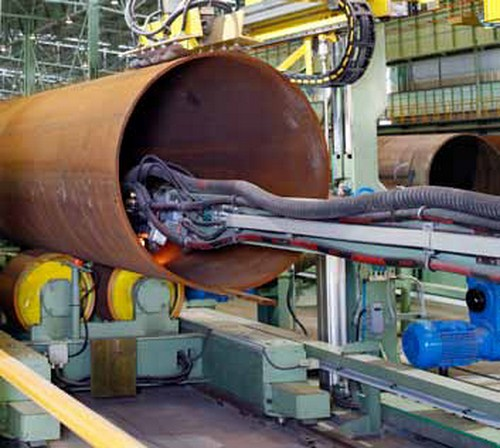 Welding Solutions for Pipemills
